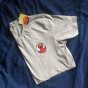Sesame Street x Common Sense Embroidered Elmo Tee